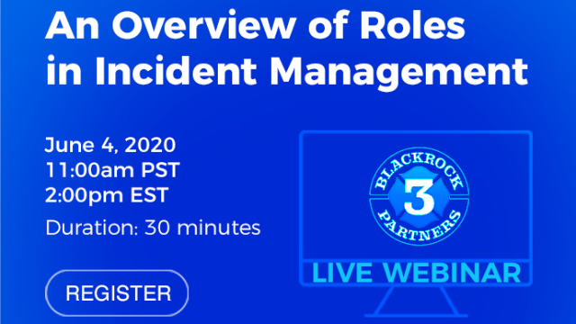 An Overview of Roles in Incident Management