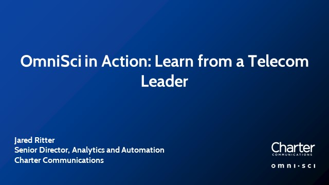 OmniSci in Action: Learn from a Telecom Leader