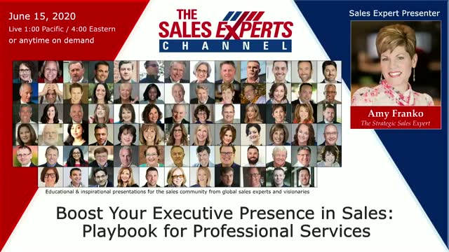 Boost Your Executive Presence in Sales: Playbook for Professional Services