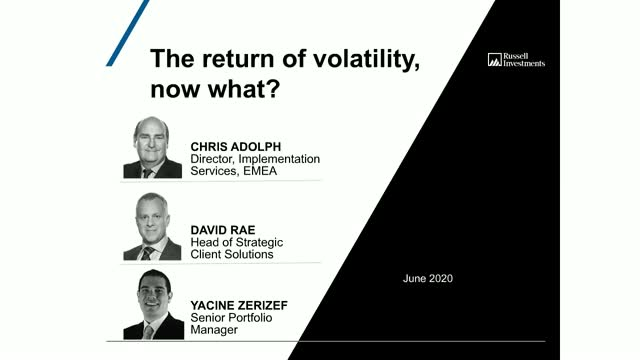 The return of volatility, now what?