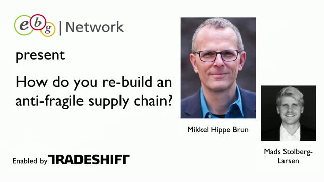 Re-building an antifragile supply chain