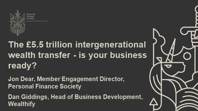 The £5.5 trillion intergenerational wealth transfer – is your business ready?