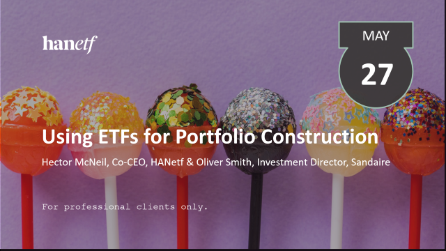 Using Exchange Traded Funds for Portfolio Construction