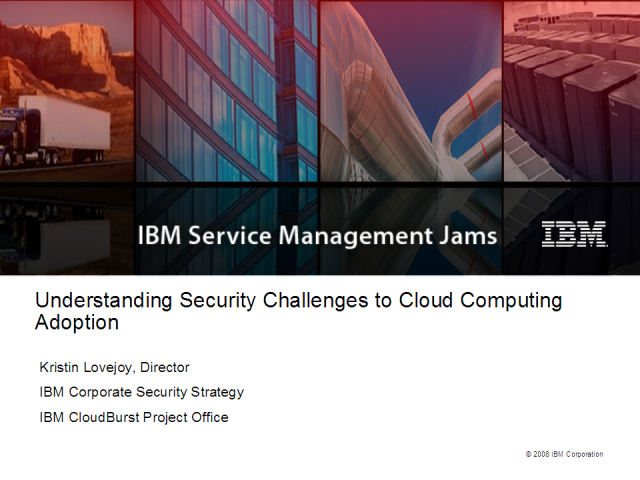 Understanding Security Challenges to Cloud Computing Adoption