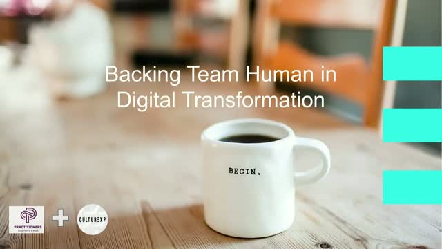 Backing Team Human:  Implementing Successful DX strategies using SaaS