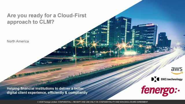Are You Ready for a Cloud-First Approach to Client Lifecycle Management?