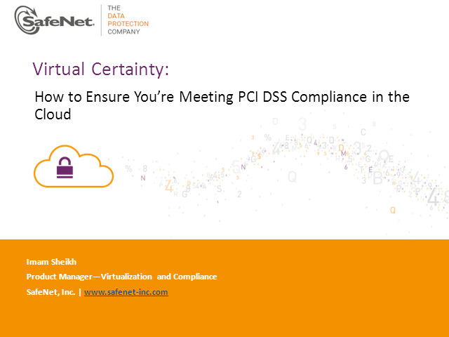 Virtual certainty: How to ensure you are meeting PCI DSS compliance