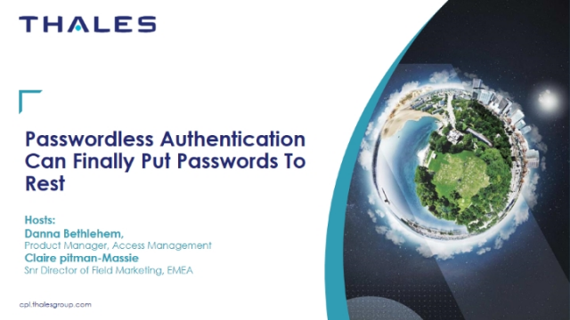 Passwordless authentication can finally put passwords to rest