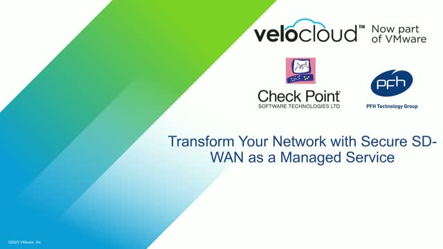 Transform Your Network with Secure SD-WAN as a Managed Service