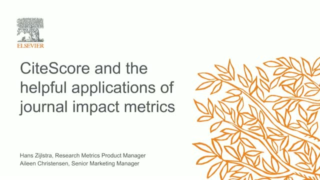 The many helpful applications of journal impact metrics
