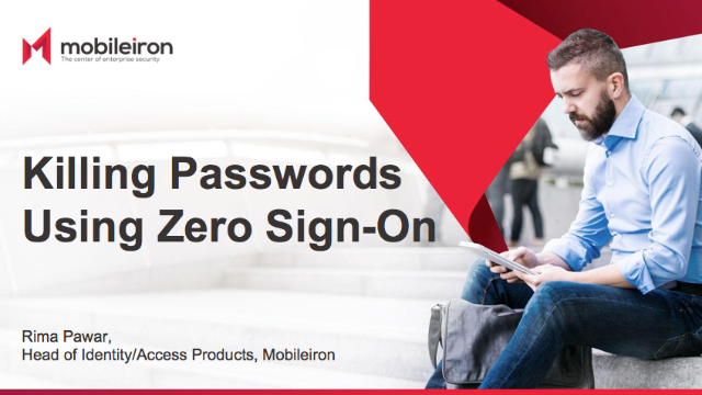 Killing Passwords using Zero Sign-On