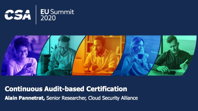 Continuous Audit-based Certification