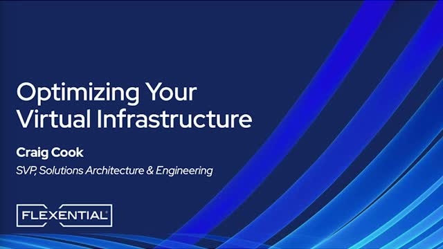 How to Optimize Your Virtual Infrastructure