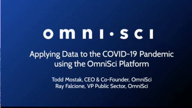 Applying Data to the COVID-19 Pandemic
