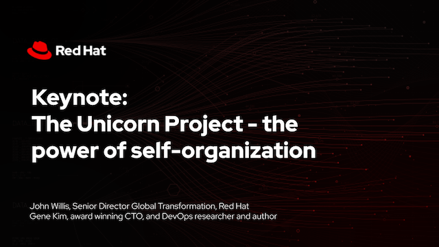 The Unicorn Project – the power of self-organization