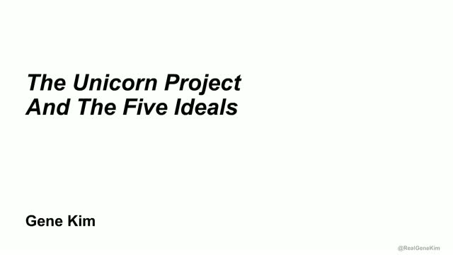 The Unicorn Project: The power of self-organization