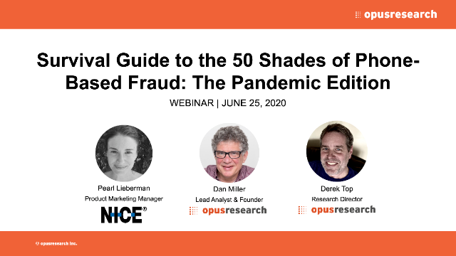 Survival Guide to the 50 Shades of Phone-Based Fraud: The Pandemic Edition
