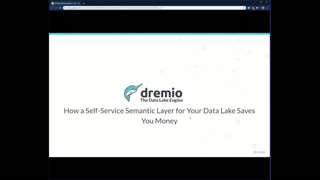 How a Self-Service Semantic Layer for Your Data Lake Saves You Money