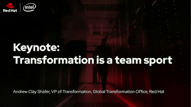 Digital Transformation is a team sport