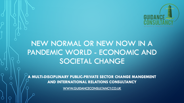 New Normal or New Now in a Pandemic World – Economic and Societal Change