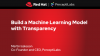 Build a Machine Learning Model with Transparency