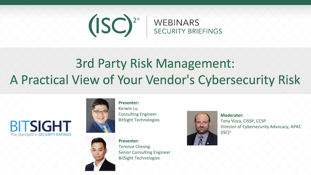 3rd Party Risk Management: A Practical View of Your Vendor's Cybersecurity Risk