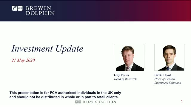 Investment update - a focus on market data