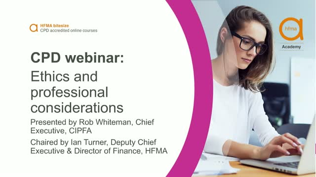 Bitesize CPD webinar: Ethics and professional considerations