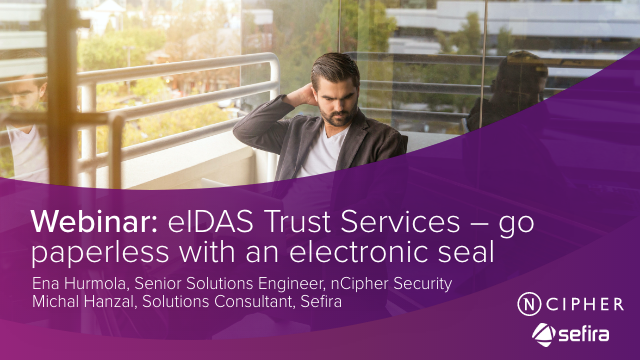 eIDAS Trust Services – go paperless with an electronic seal