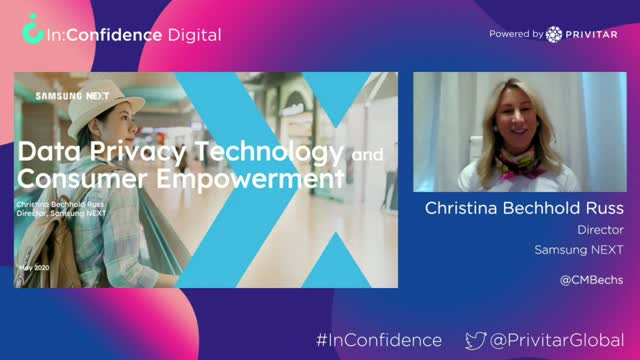 [In:Confidence Digital] Data Privacy Technology and Consumer Empowerment