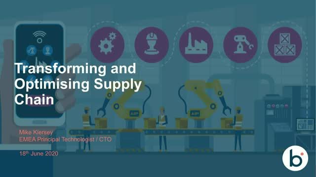 Transforming and optimizing the Supply Chain