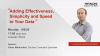 Adding Effectiveness, Simplicity and Speed to Your Data