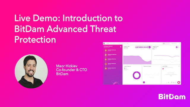 Live Demo: Introduction to BitDam Advanced Threat Protection