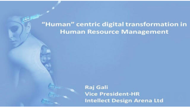 Human centric digital transformation in human resources management