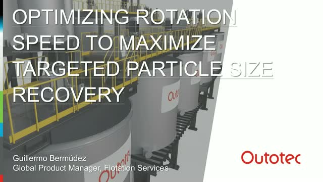 Optimizing rotation speeds to maximize targeted particle fraction
