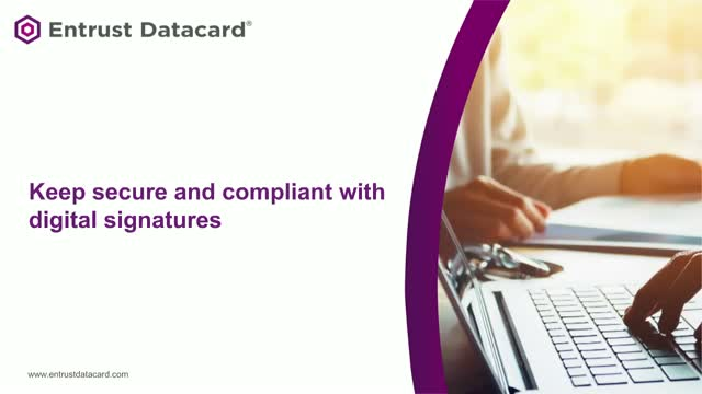 Remote agreements & approvals: keep secure and compliant with digital signatures