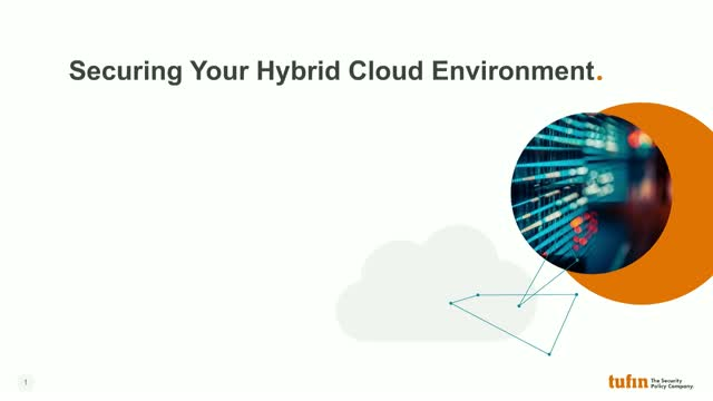 Securing Your Hybrid Cloud Environment