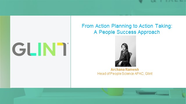 [APAC] From Action Planning to Action Taking: A People Success Approach