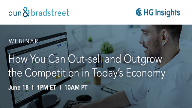 How You Can Out-sell and Outgrow the Competition in Today's Economy