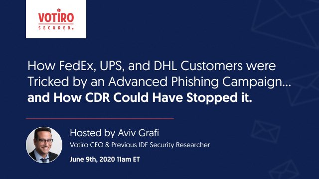 How FedEx, UPS &  DHL Customers were Tricked by an Advanced Phishing Campaign.