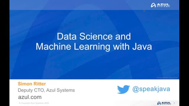 Data Science and Machine Learning with Java
