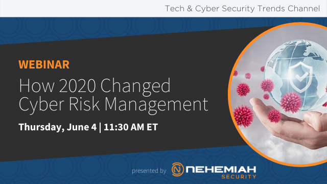 How 2020 Changed Cyber Risk Management