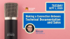 Making A Connection Between Technical Documentation and Sales