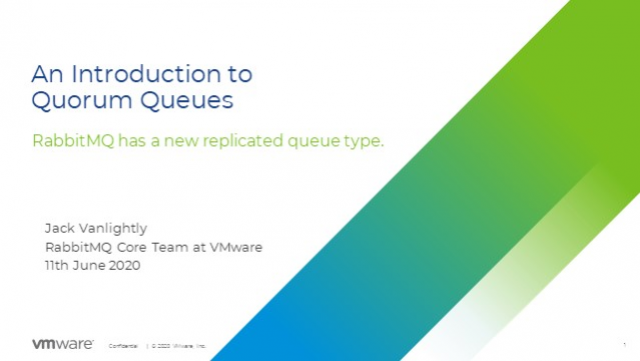 HA and data safety in messaging: quorum queues in RabbitMQ