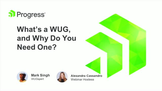 What's a WUG and Why Do You Need One?