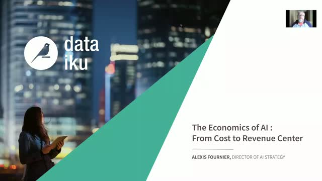 Entreprise AI, from Cost to Revenue Center