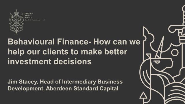 How can we help our clients to make better investment decisions?