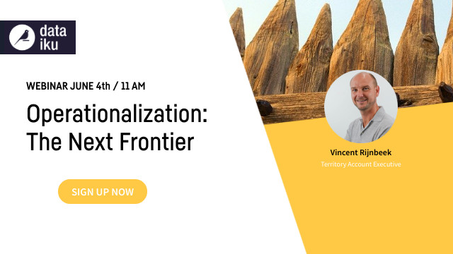 Operationalization: The Next Frontier