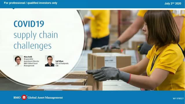 COVID-19 and supply chain challenges