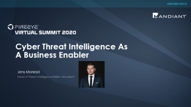 Cyber Threat Intelligence as a Business Enabler